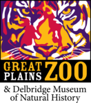 Great Plains Zoo and Delbridge Museum of Natural History logo